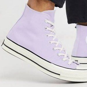 Converse Purple High Top Foldable Sneakers